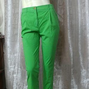 CAVALLI CLASS Cropped Cotton Pants NEW